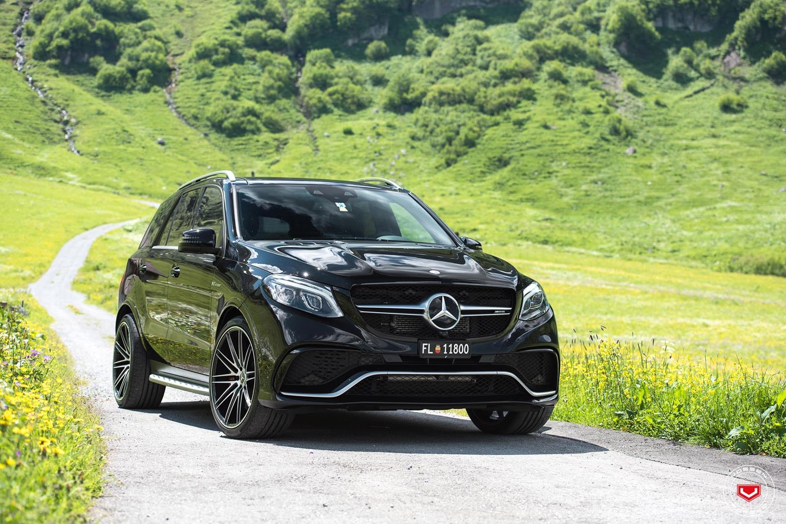 Mercedes Benz GLE на дисках VPS-307
